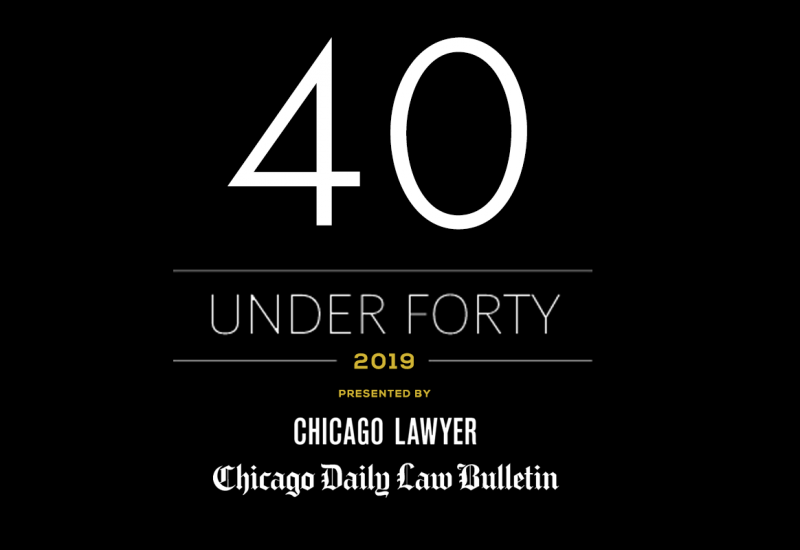 "Michael D. Sevin selected as one of ""40 Illinois Attorneys Under Forty"" to Watch"