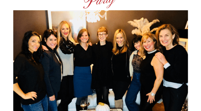 Divorce and Family Law Partner Morgan L. Stogsdill Presents at Powerful Partners, Inc. Dinner Party