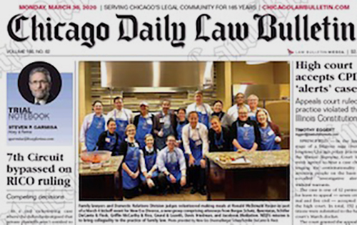 Founder of New Era Divorce, Morgan L. Stogsdill Featured on Front Page of The Chicago Daily Law Bulletin