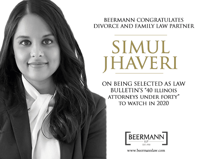 Simul Jhaveri – 40 under Forty Illinois Attorneys to Watch in 2020