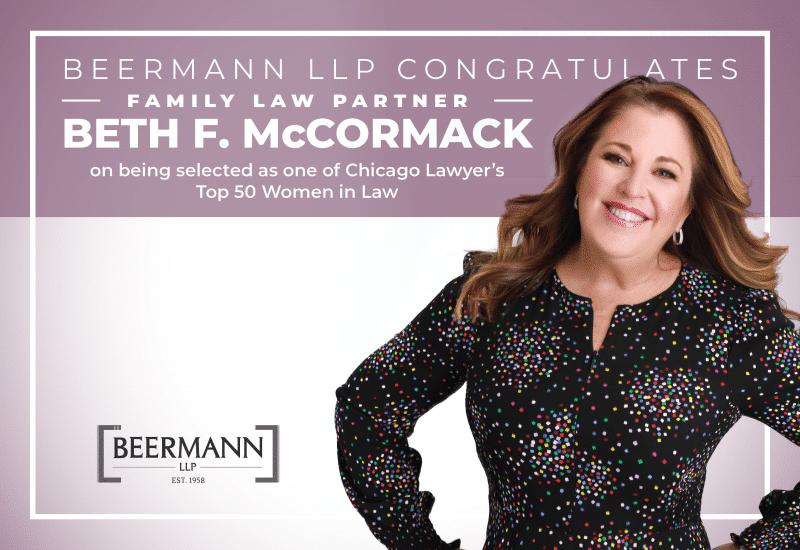Congratulations to Beth F. McCormack!