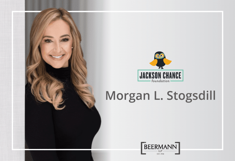 Join Morgan L. Stogsdill and Beermann LLP in Supporting the Jackson Chance Foundation's 2021 Owl Ride