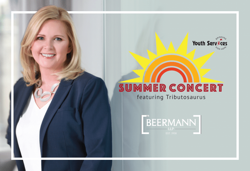 Join Karen V. Paige and Beermann LLP in Supporting the Youth Services Summer Concert