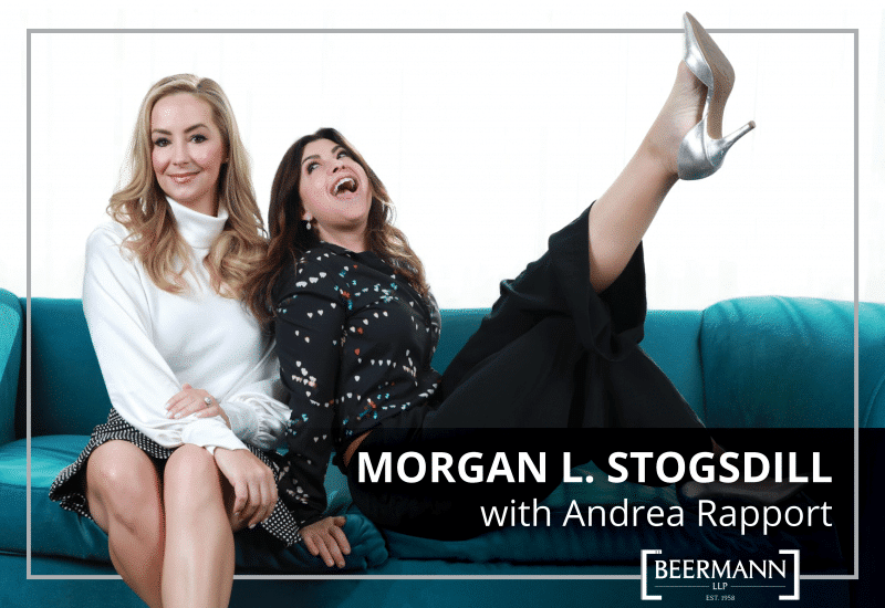 """Morgan L. Stogsdill Creates """"How Not To Suck At Divorce"""" Podcast With Andrea Rapport"""