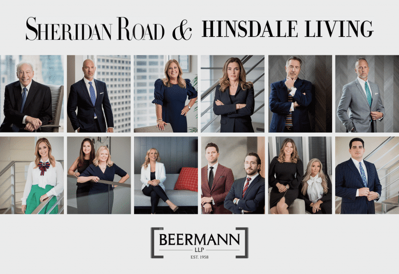Premier Lawyer's Issue of Sheridan Road and Hinsdale Living Features 15 Beermann Attorneys